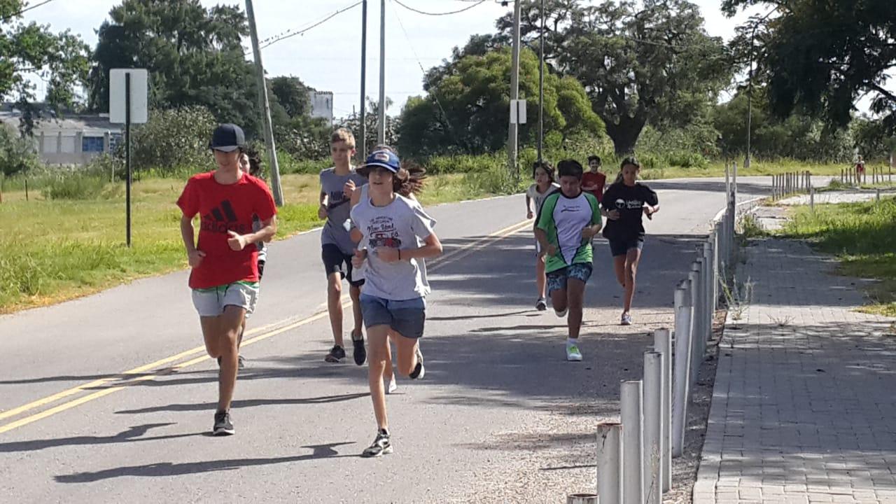 entrenamiento grupo triatlón